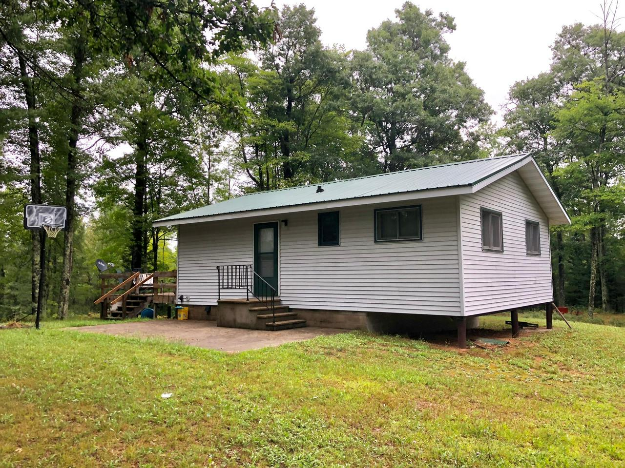 View Single-Family Home For Sale at N14458 Northway Dr, Athelstane, WI