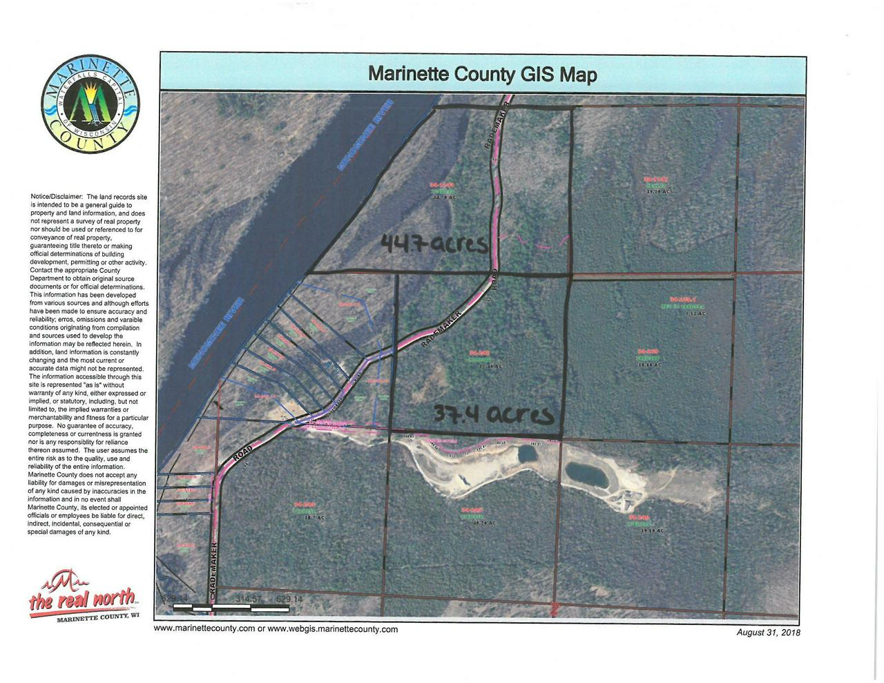 View Vacant Land For Sale at LT0 Rademaker Road, Wausaukee, WI