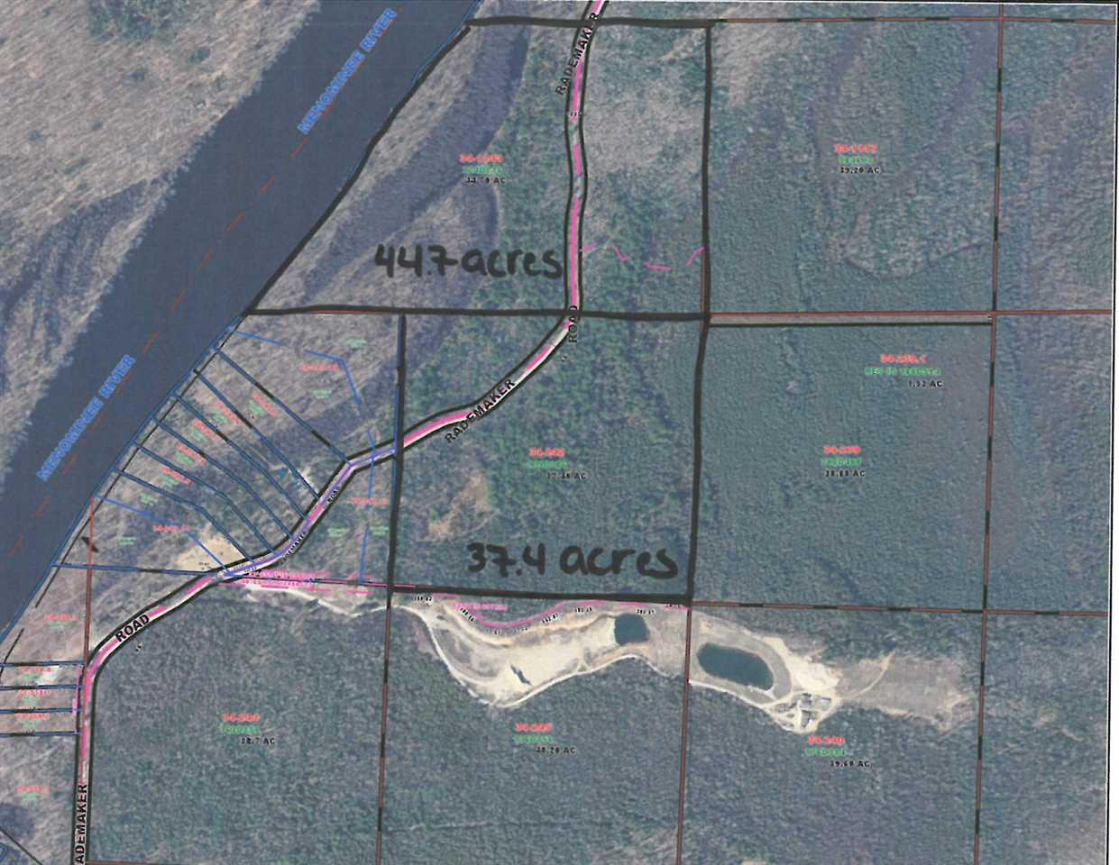 View Vacant Land For Sale at RADEMAKER ROAD, Wausaukee, WI