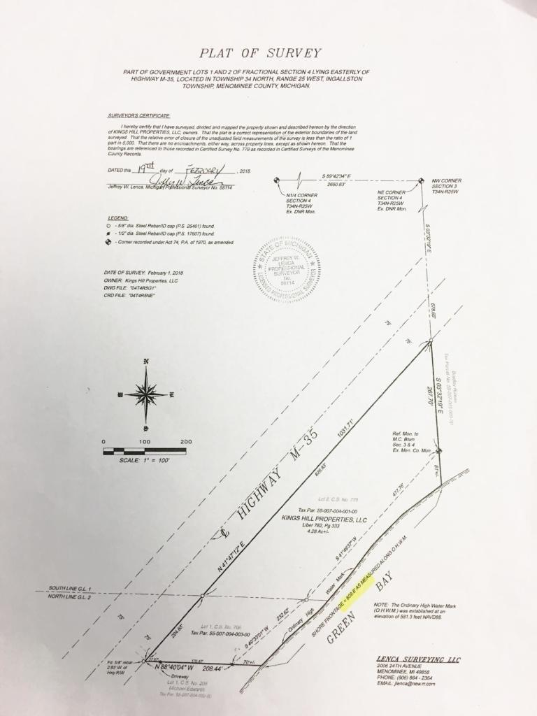 View Vacant Land For Sale at N7160 Hwy M-35, INGALLSTON, MI