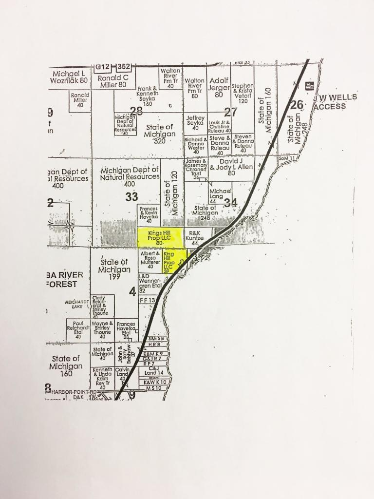 View Vacant Land For Sale at N7160 Hwy M-35, CEDARVILLE, MI