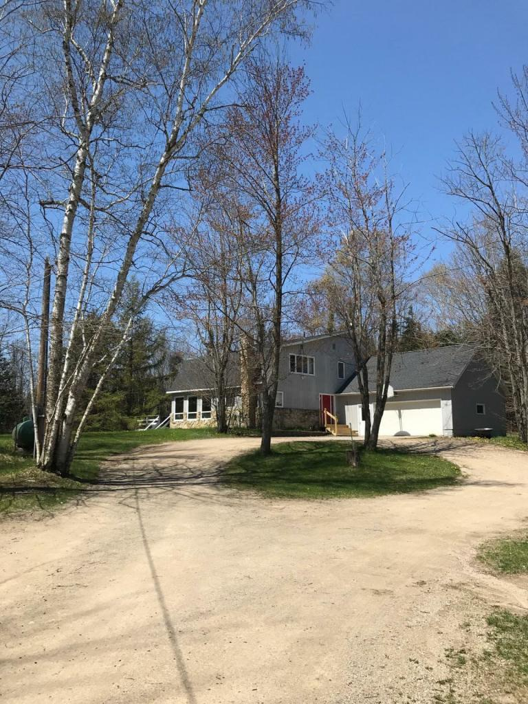 View Single-Family Home For Sale at N6997 State Highway M-35, CEDARVILLE, MI