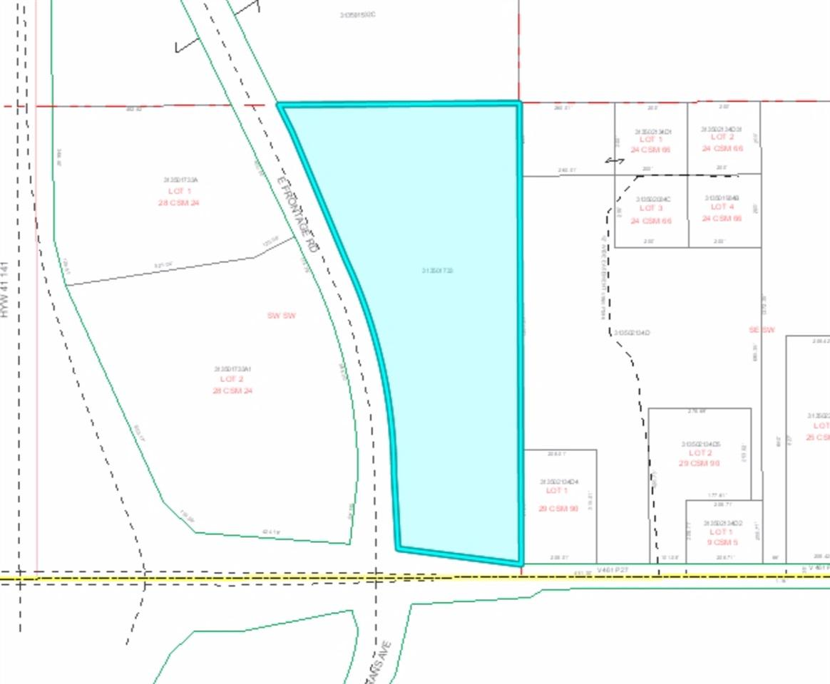 View Vacant Land For Sale at E FRONTAGE ROAD, Little Suamico, WI