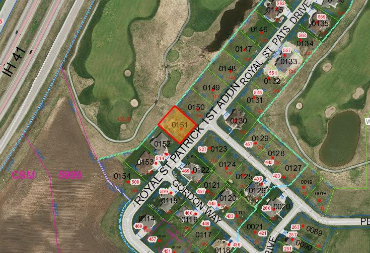 View Vacant Land For Sale at 526 ROYAL ST PATS DRIVE, Wrightstown, WI