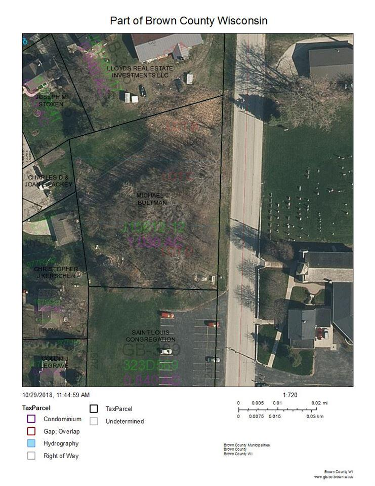 View Vacant Land For Sale at COUNTY LINE ROAD, Luxemburg, WI