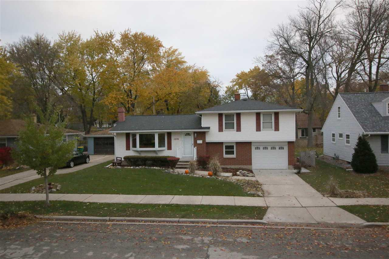 View Single-Family Home For Sale at 1070 THORNDALE STREET, Green Bay, WI
