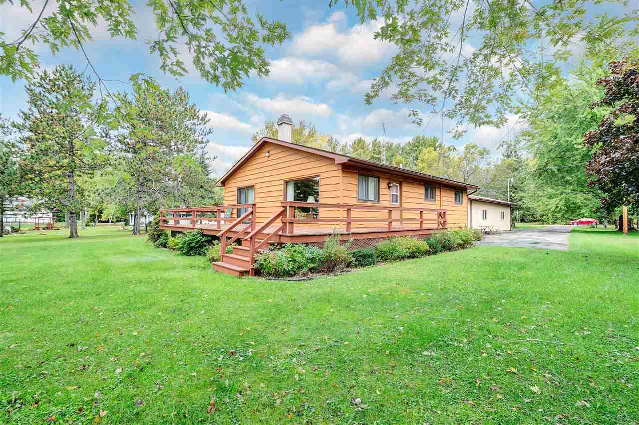 View Single-Family Home For Sale at W6555 ELINOR DRIVE, Wausaukee, WI