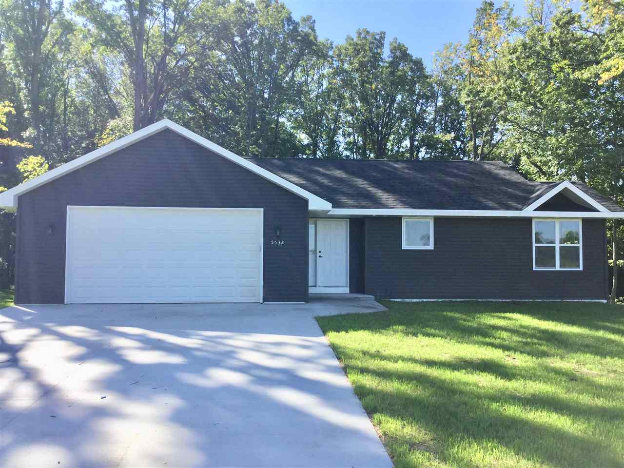View Single-Family Home For Sale at 5532 NORTH AVENUE, Denmark, WI