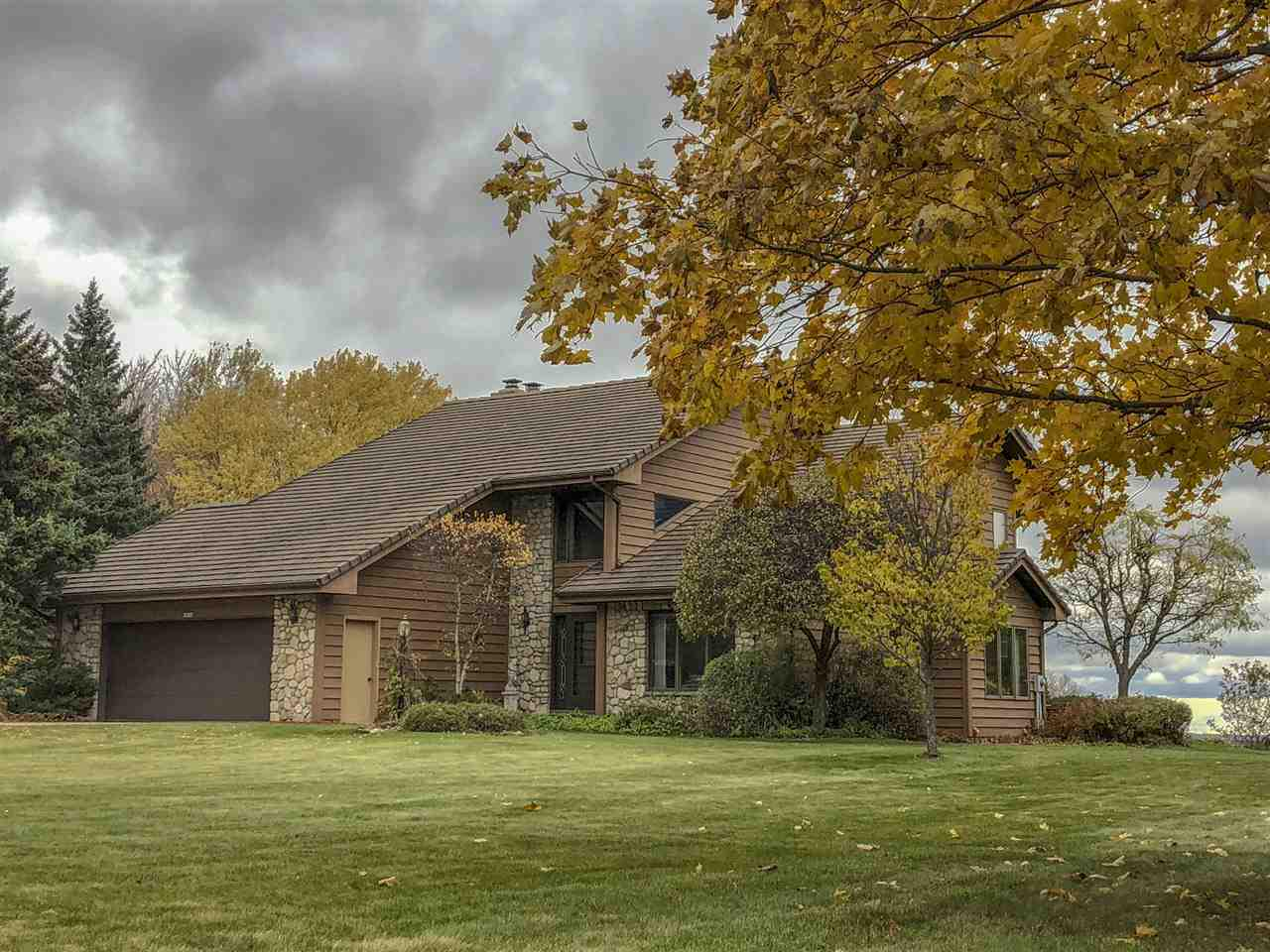 View Single-Family Home For Sale at N8598 SPRUCE ROAD, Casco, WI
