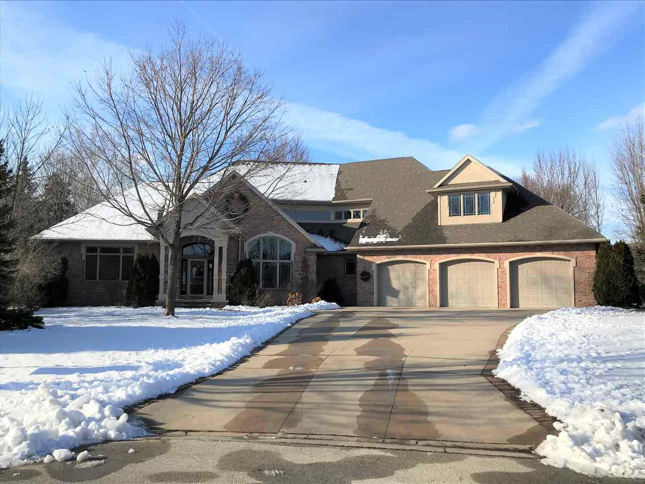 View Single-Family Home For Sale at 1456 FINCH LANE, Green Bay, WI