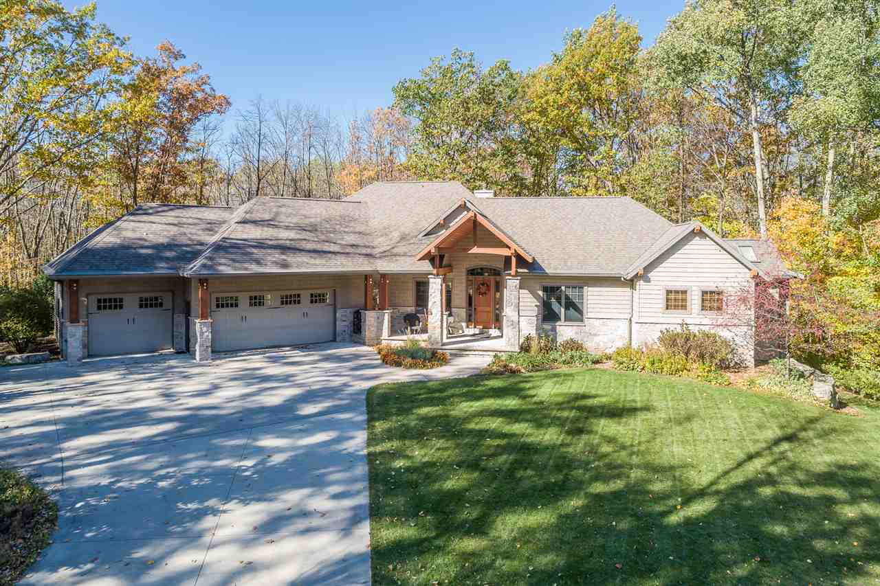 View Single-Family Home For Sale at N1491 FOREST GLEN DRIVE, Greenville, WI