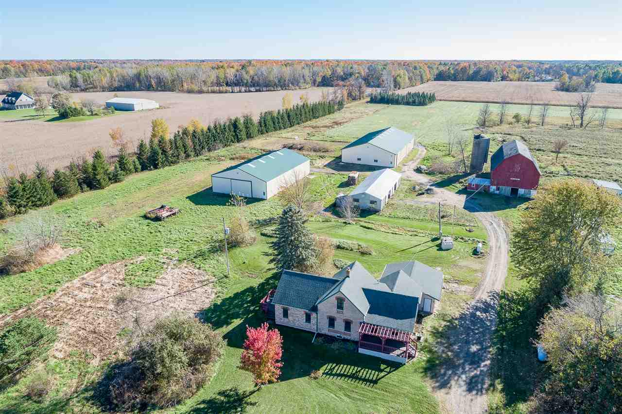 View Single-Family Home For Sale at 8423 HWY S, Pulaski, WI