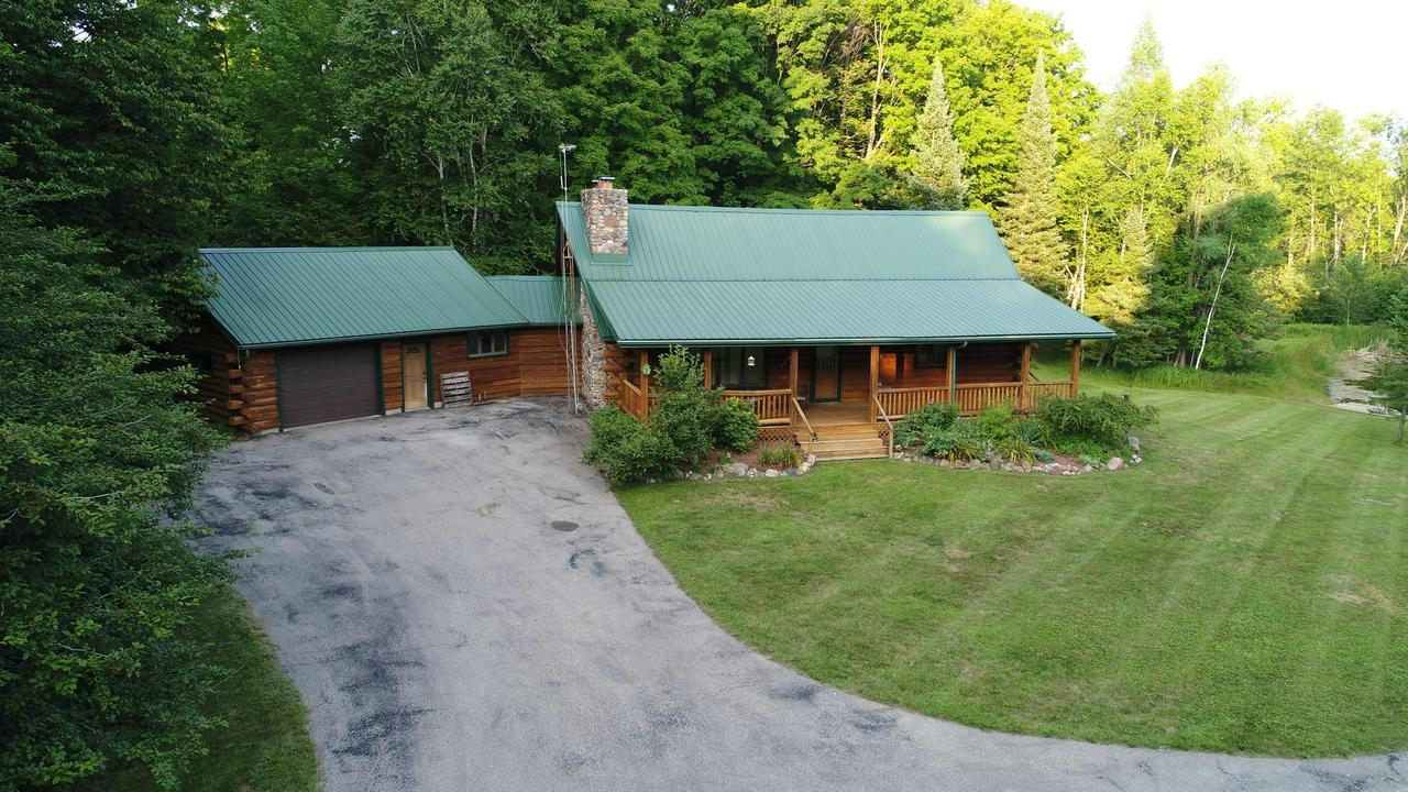 View Single-Family Home For Sale at W4387 Panske Rd, Porterfield, WI