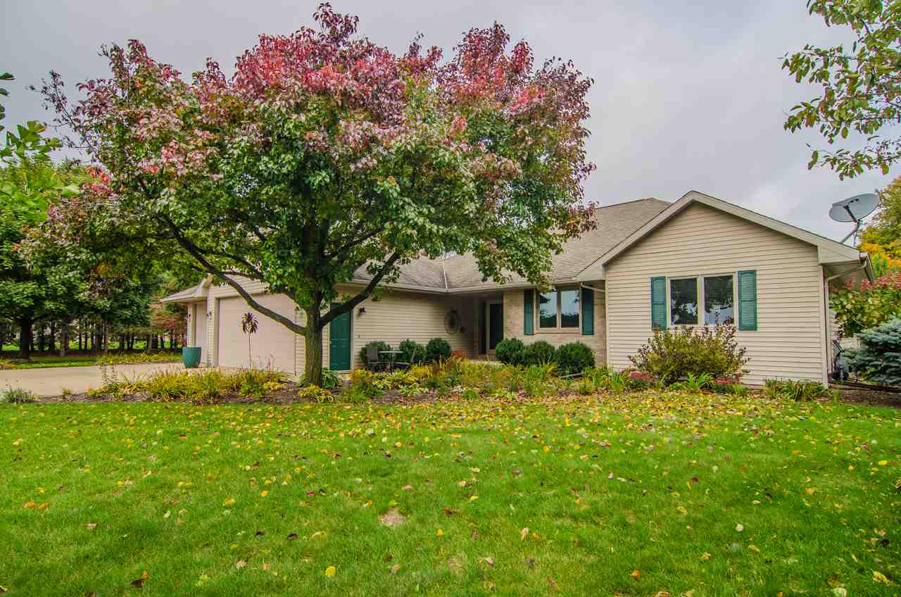 View Single-Family Home For Sale at 7424 BREEZE LANE, Pulaski, WI