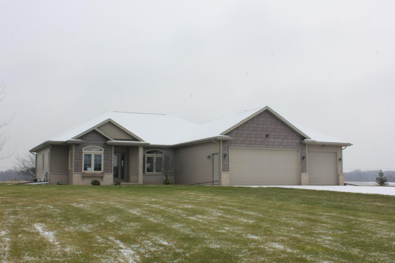 View Single-Family Home For Sale at 6937 Elmro Rd, Greenleaf, WI