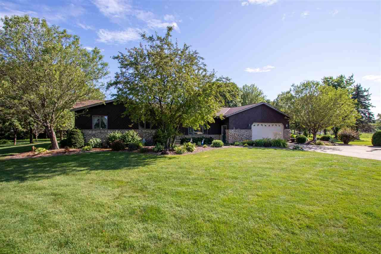 View Single-Family Home For Sale at 5464 ALGOMA ROAD, New Franken, WI
