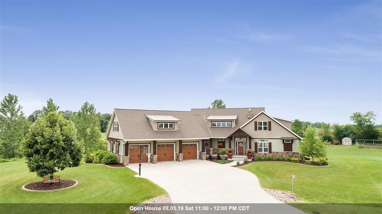 View Single-Family Home For Sale at 2166 SILVER QUAIL LANE, De Pere, WI