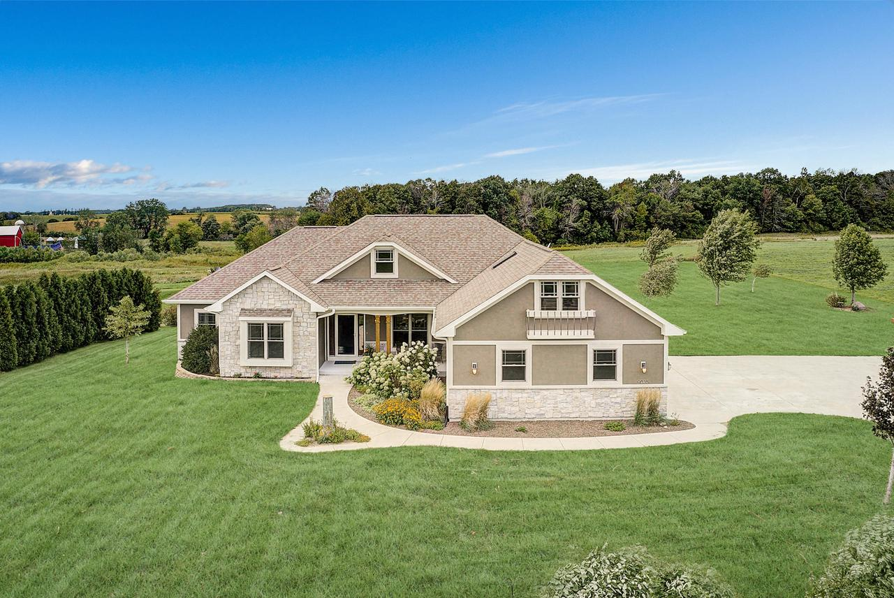 View Single-Family Home For Sale at 9035 Deer Run Dr, Allenton, WI