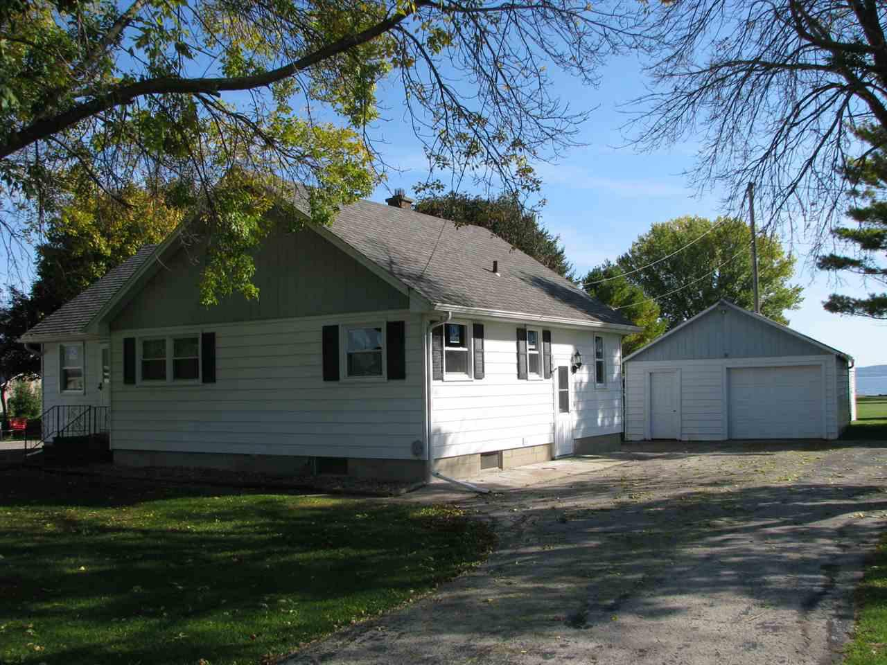 View Single-Family Home For Sale at N8937 LAKESHORE DRIVE, Van Dyne, WI