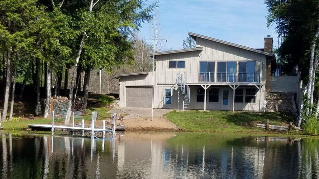 View Single-Family Home For Sale at 16951 N SURPRISE LAKE LANE, Townsend, WI