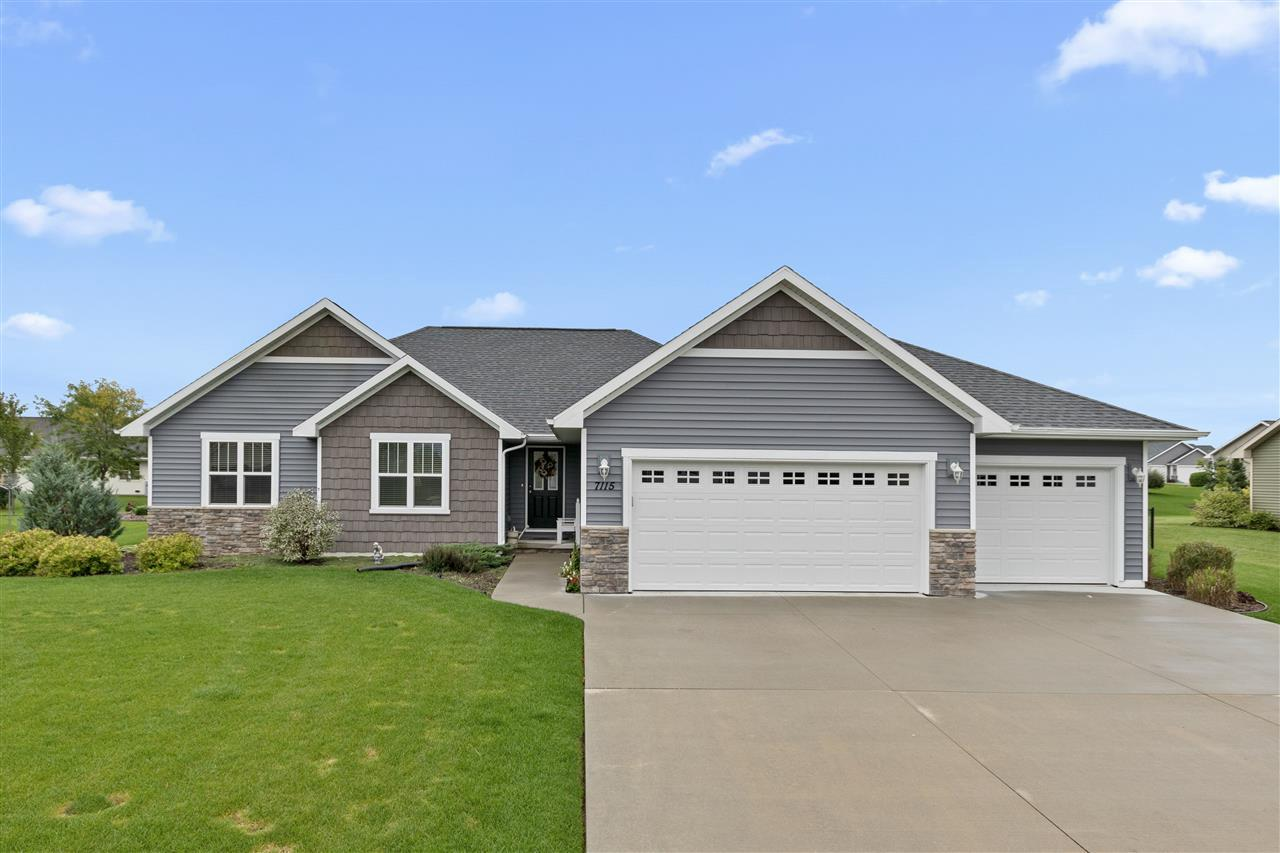 View Single-Family Home For Sale at W7115 GLENFORD WAY, Greenville, WI
