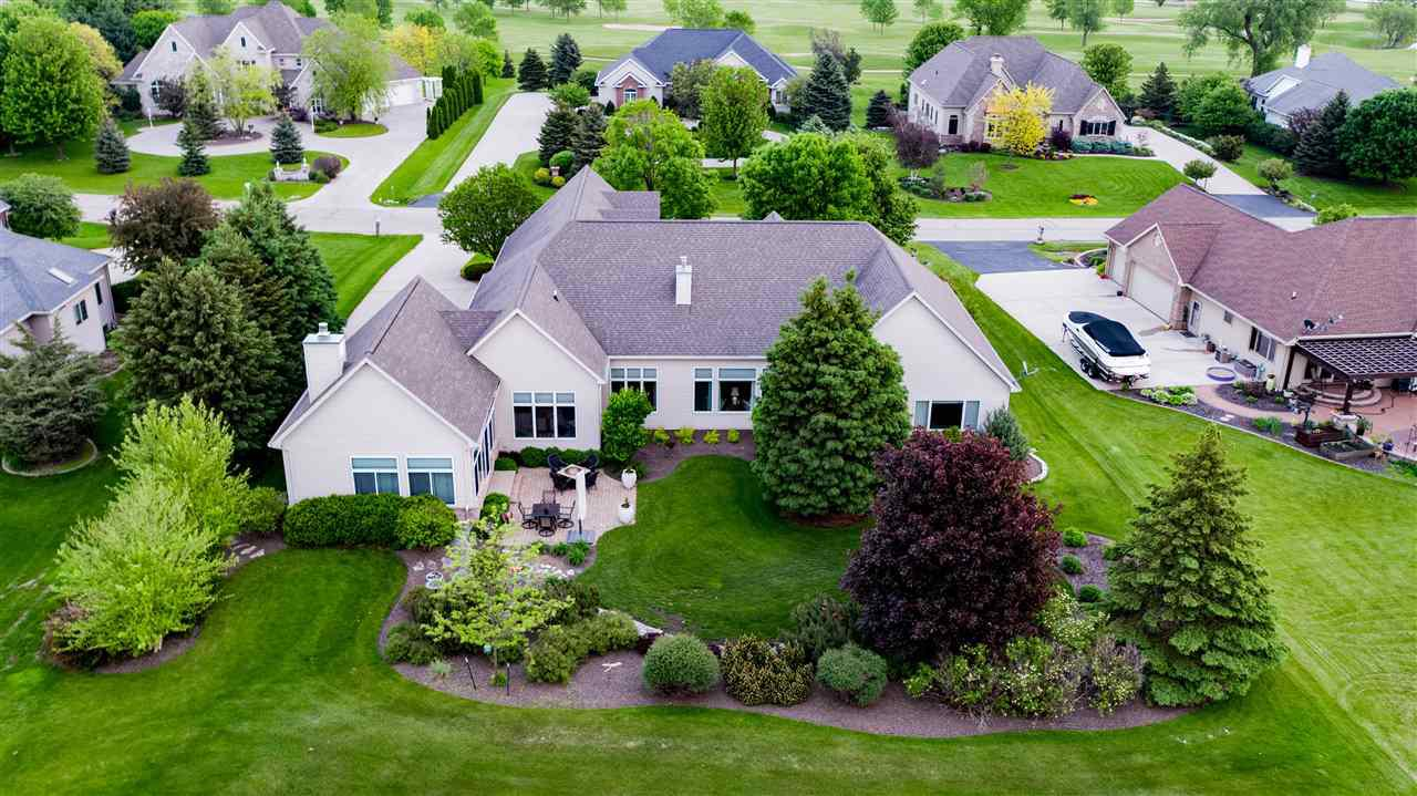 View Single-Family Home For Sale at 8203 GOLF COURSE DRIVE, Neenah, WI