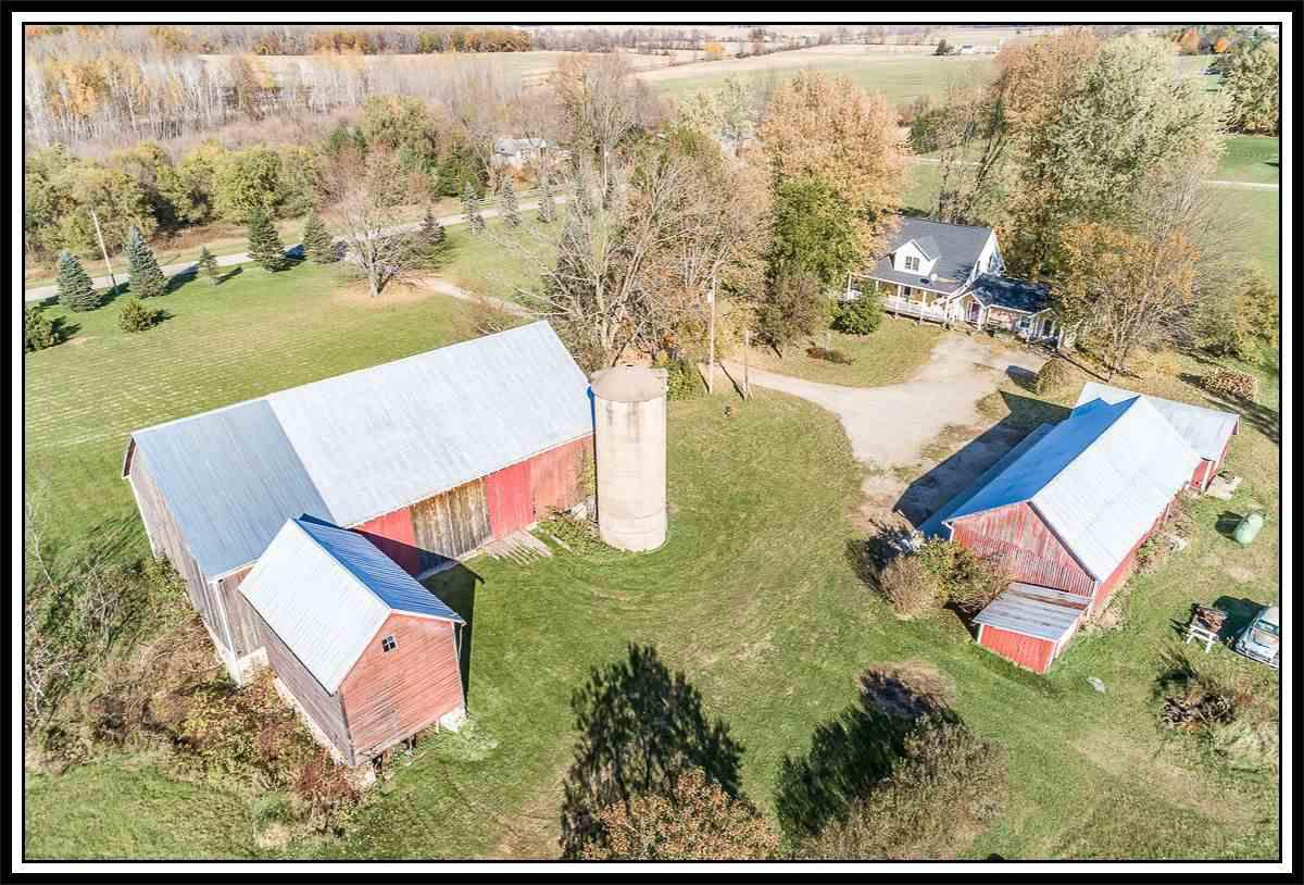 View Single-Family Home For Sale at W9849 OLD HWY 54, New London, WI