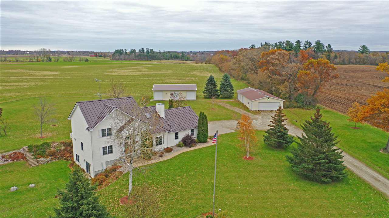 View Single-Family Home For Sale at E4242 STECKS ROAD, Weyauwega, WI