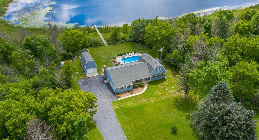 View Single-Family Home For Sale at N1597 Double D Rd, Campbellsport, WI