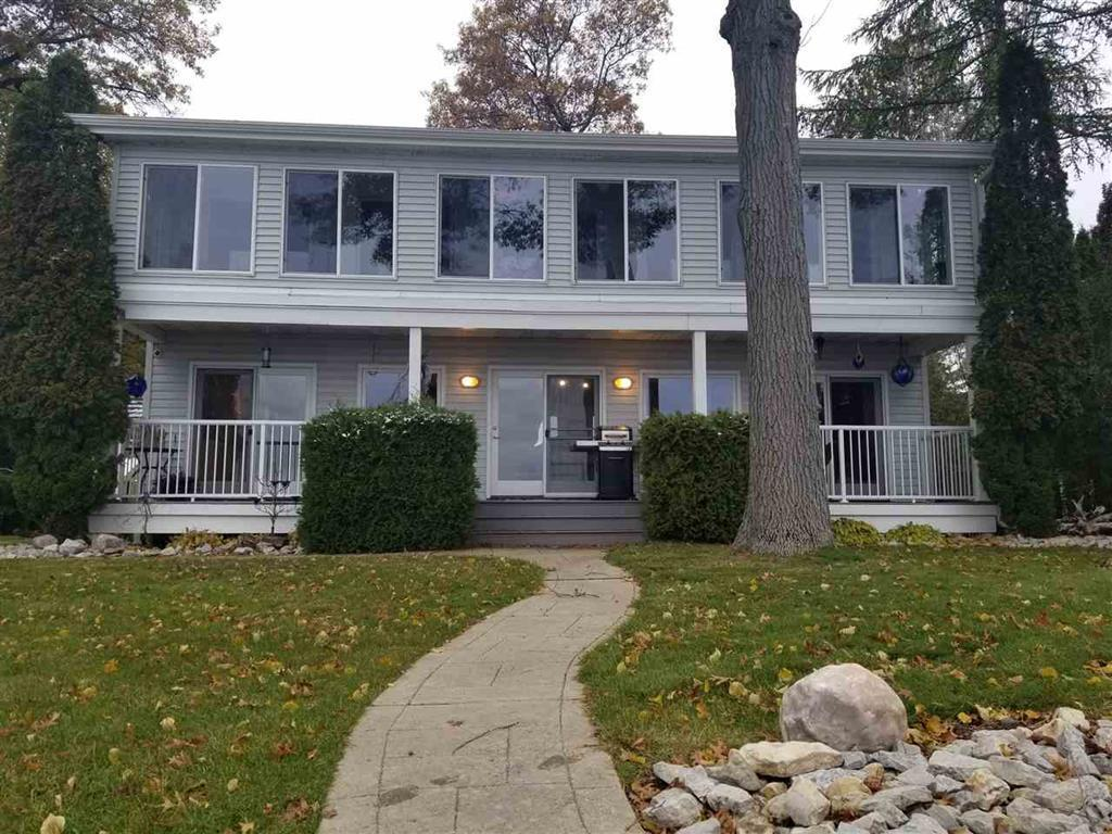 View Single-Family Home For Sale at N1566 Shore Dr, Marinette, WI