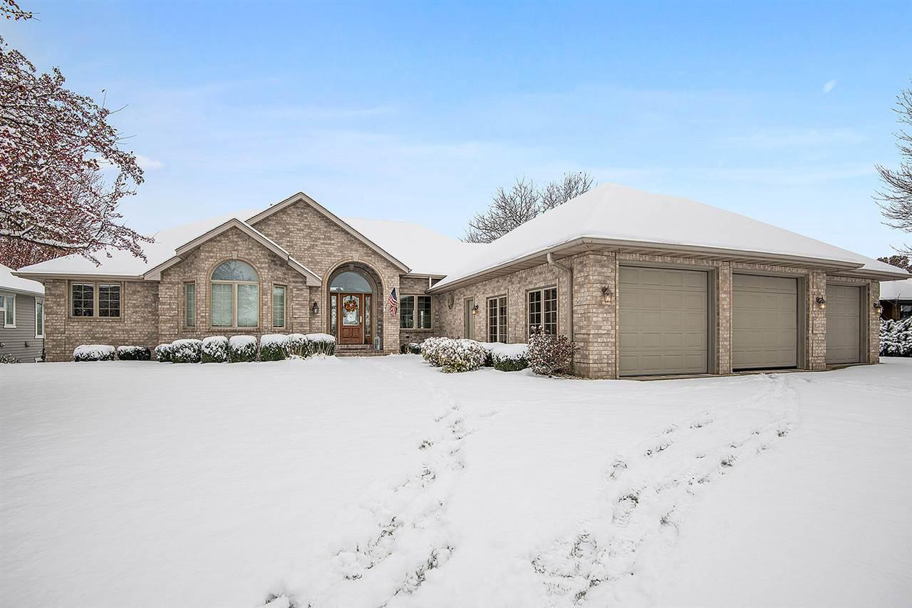 View Single-Family Home For Sale at 1053 CRESTVIEW DRIVE, Wrightstown, WI