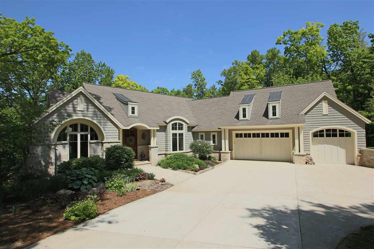 View Single-Family Home For Sale at W2575 BLACKBERRY DRIVE, Mount Calvary, WI