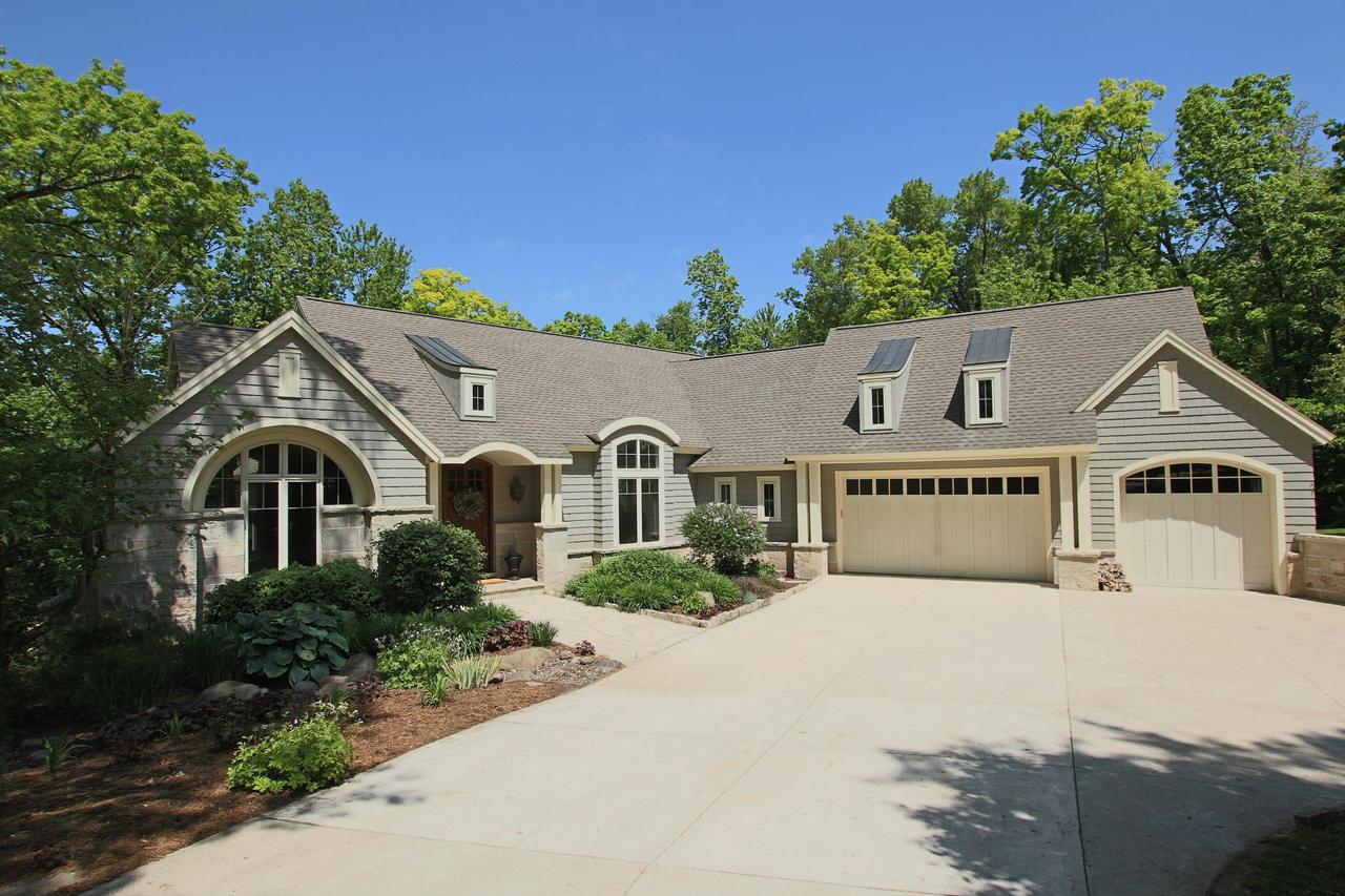 View Single-Family Home For Sale at W2575 Blackberry Dr, Mount Calvary, WI