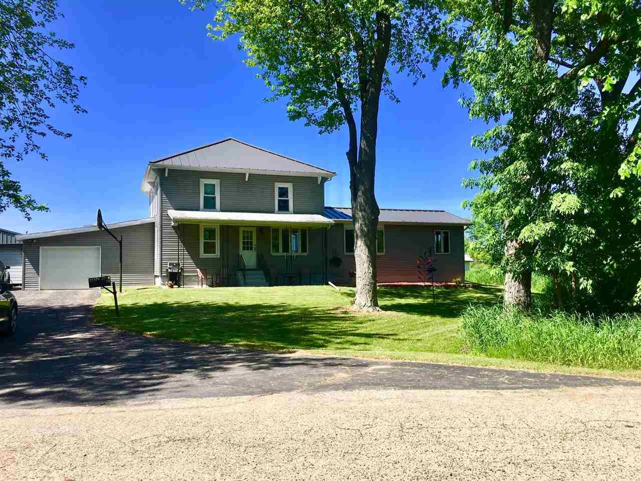 View Single-Family Home For Sale at N1924 28TH ROAD, Redgranite, WI
