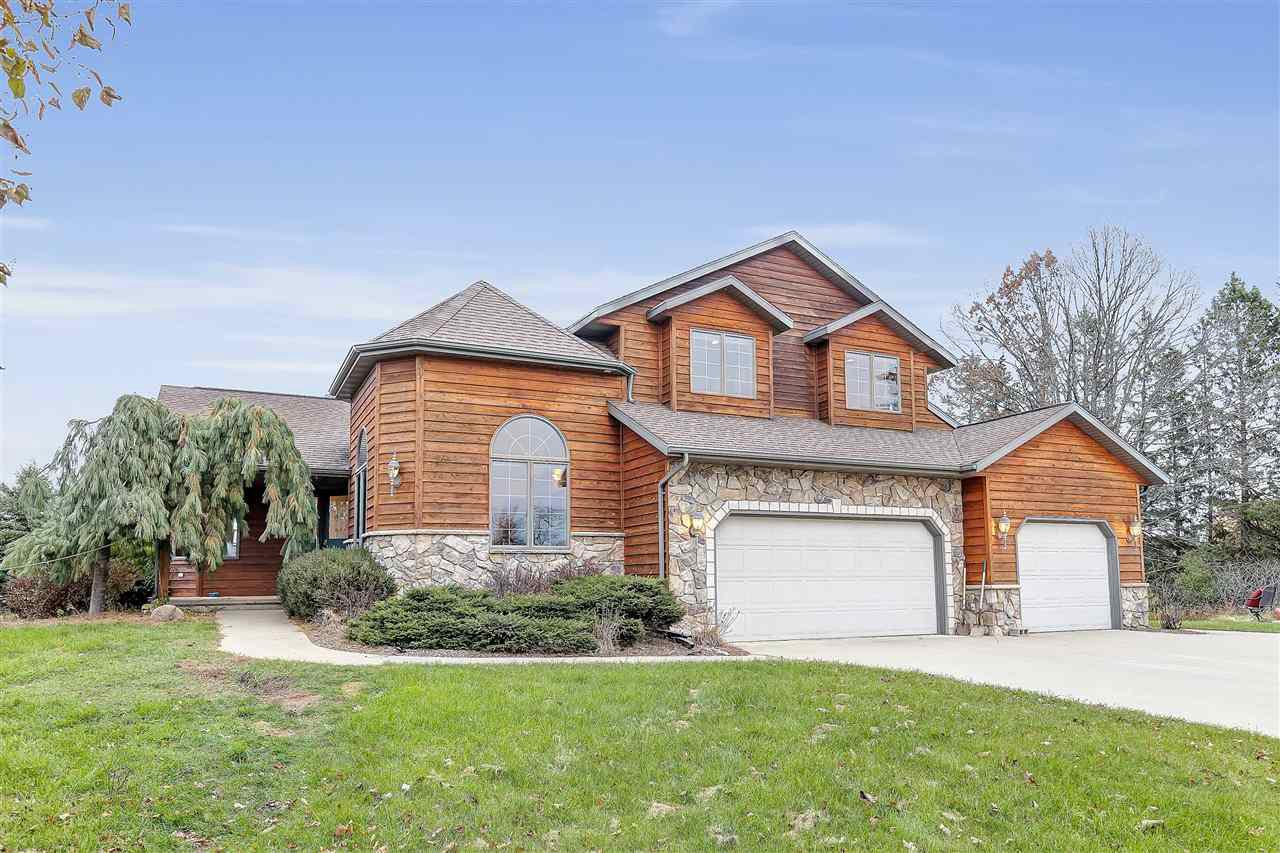 View Single-Family Home For Sale at E6492 SLOUGH ROAD, Weyauwega, WI