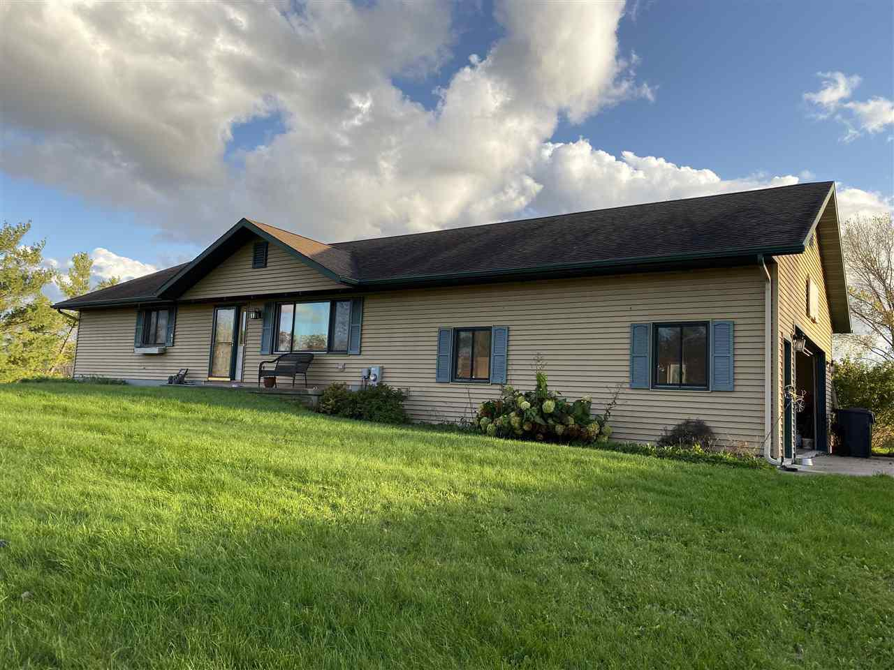 View Single-Family Home For Sale at N3947 HICKORY ROAD, Fond Du Lac, WI