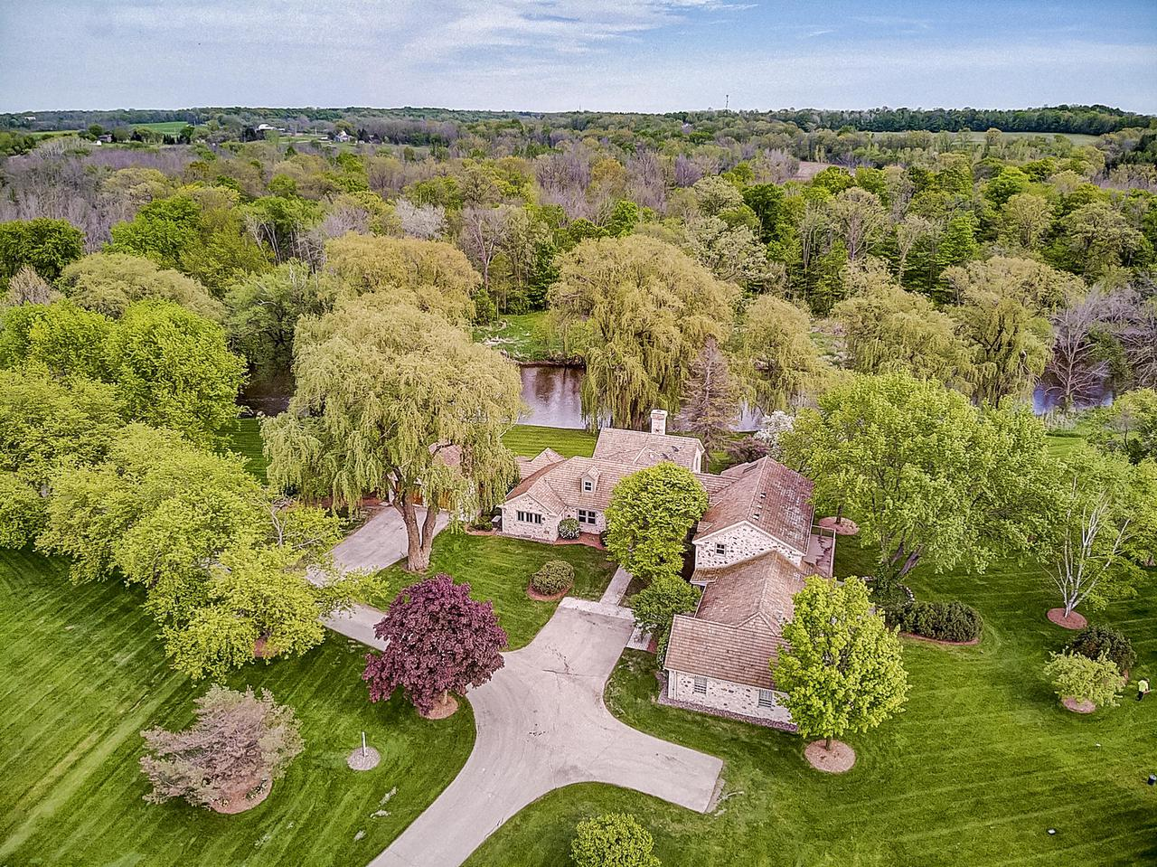 View Single-Family Home For Sale at 7455 Hickory Dr, Fredonia, WI