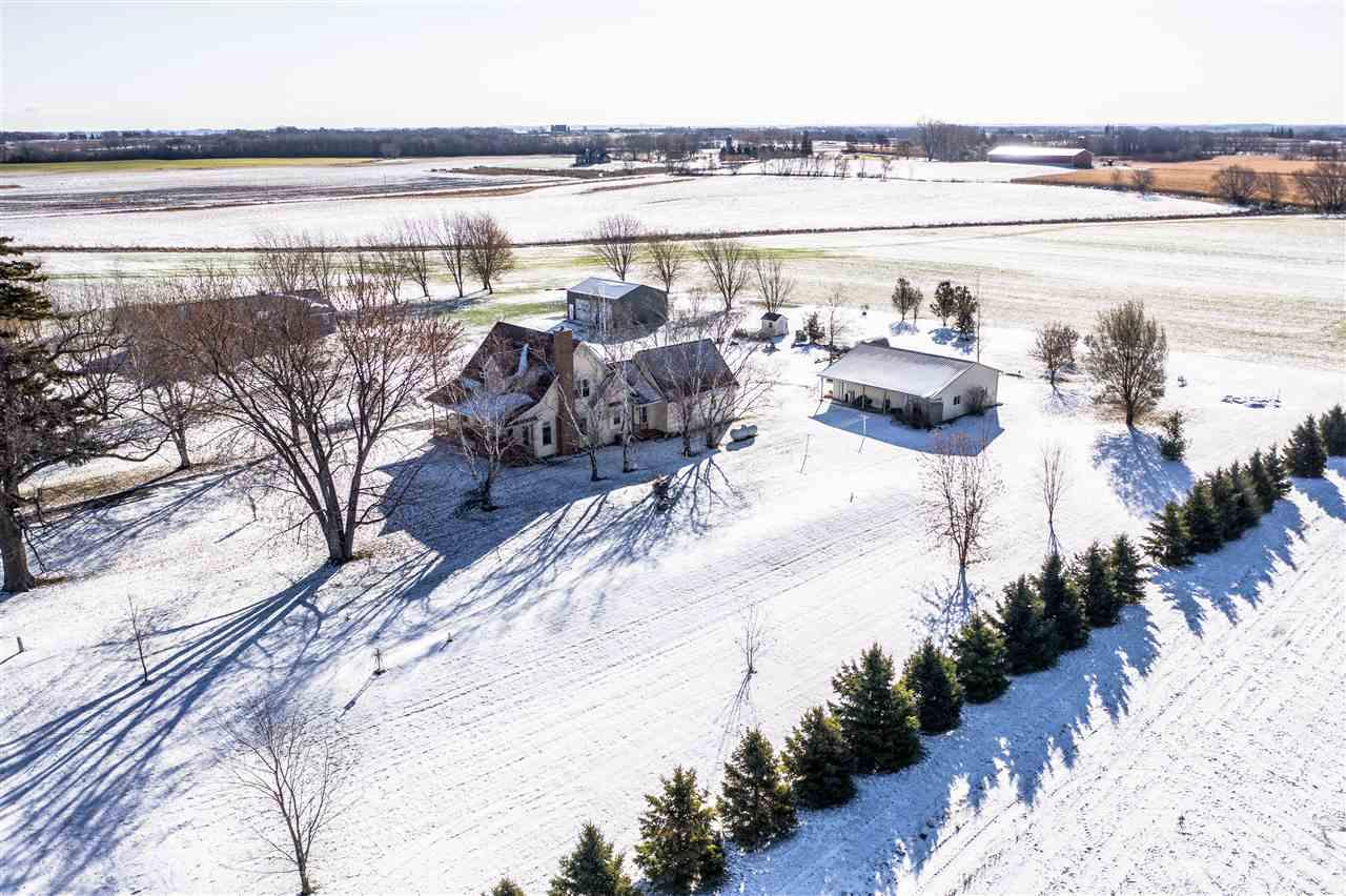 View Single-Family Home For Sale at W8990 SHARRATT ROAD, Van Dyne, WI