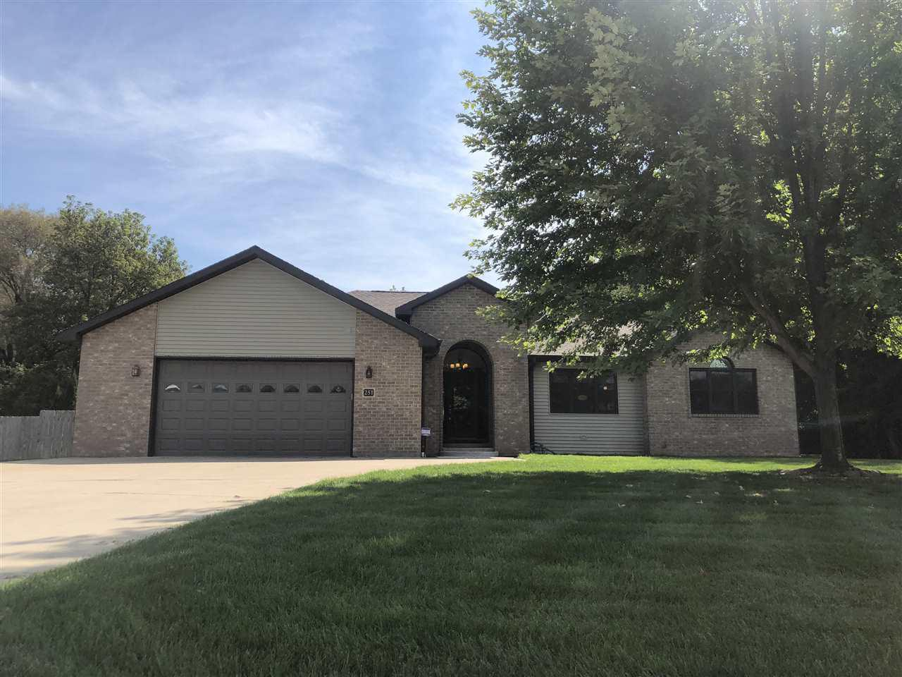 View Single-Family Home For Sale at 251 WILLOW CREEK ROAD, Rosendale, WI