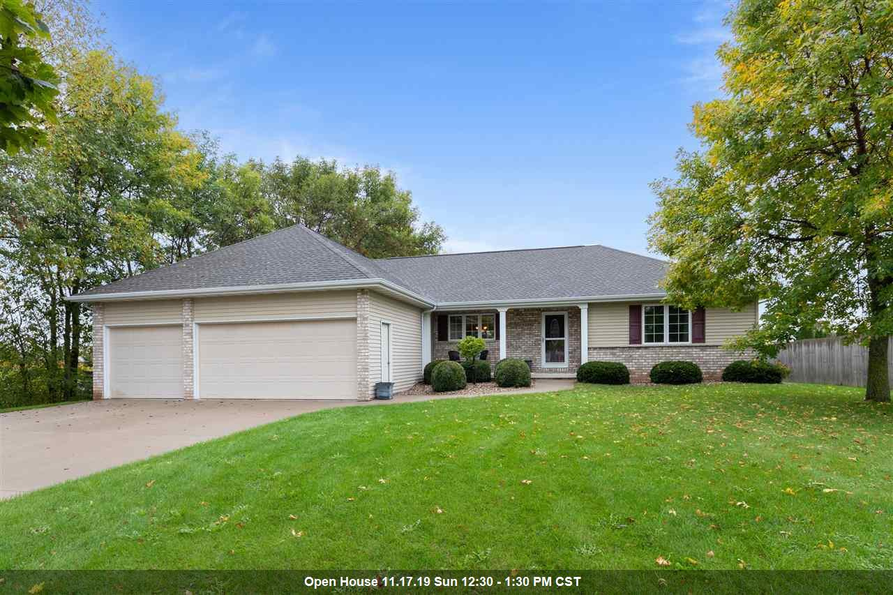 View Single-Family Home For Sale at N2292 GLEN ROSE LANE, Appleton, WI