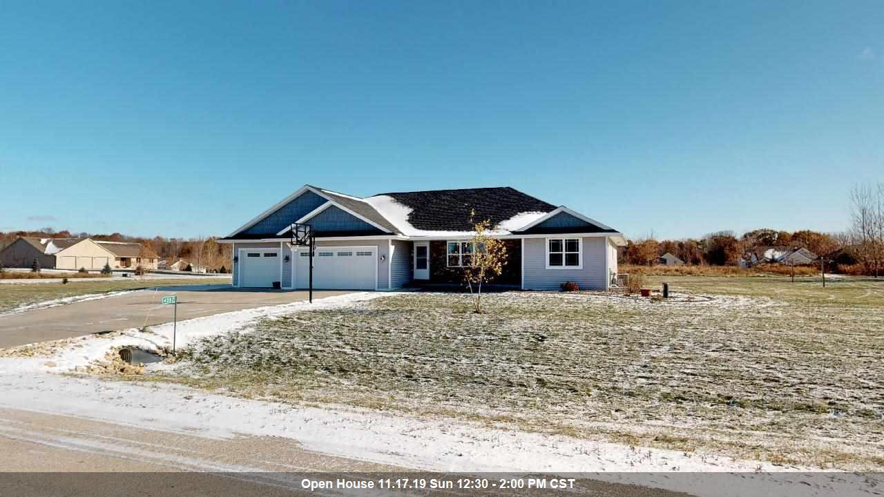 View Single-Family Home For Sale at 4082 SILVER BOW LANE, Pulaski, WI
