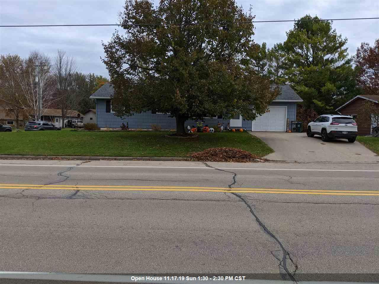 View Single-Family Home For Sale at 1702 PERSHING ROAD, New London, WI