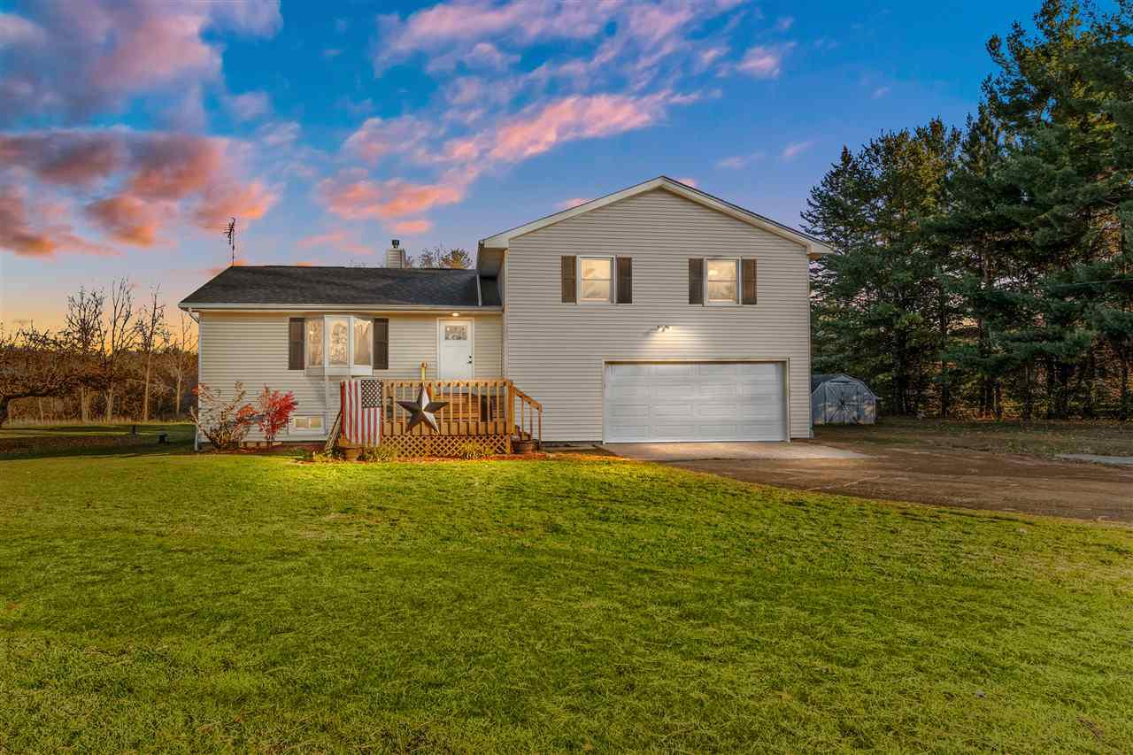 View Single-Family Home For Sale at 9096 N LOOP ROAD, Larsen, WI
