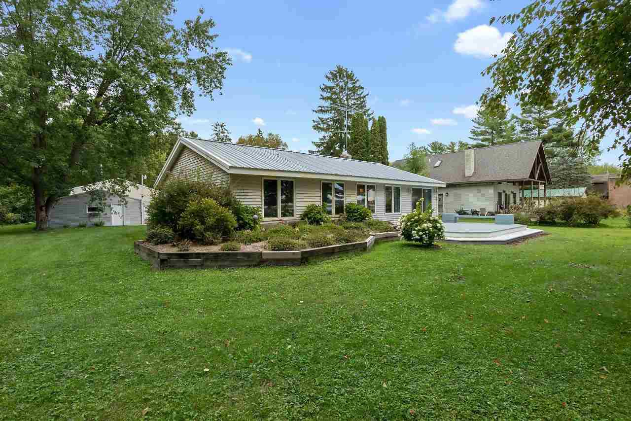 View Single-Family Home For Sale at E5617 NORTH SHORE ROAD, Royalton, WI
