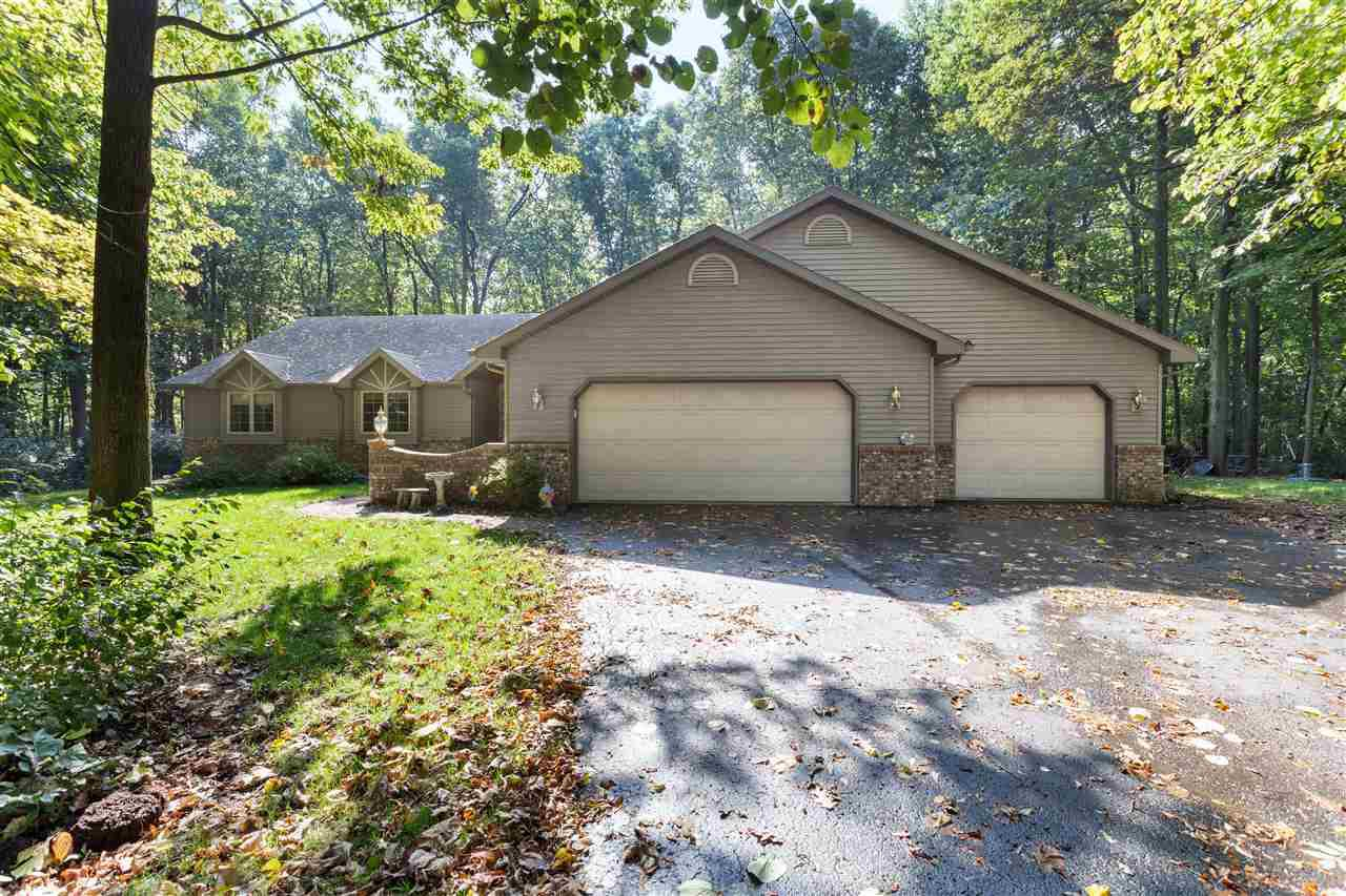 View Single-Family Home For Sale at 1691 W PAYNES POINT ROAD, Neenah, WI