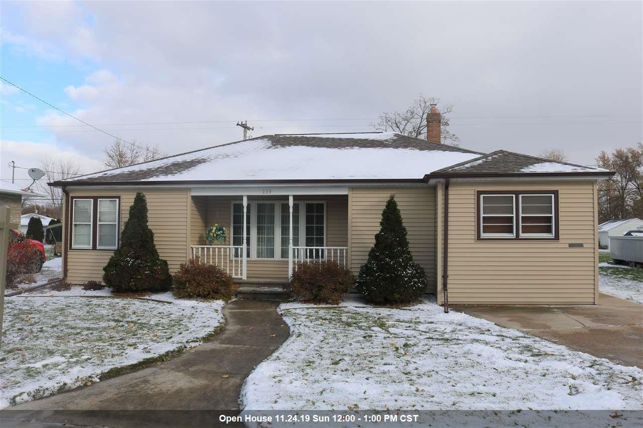 View Single-Family Home For Sale at 133 S MAPLE STREET, Kimberly, WI