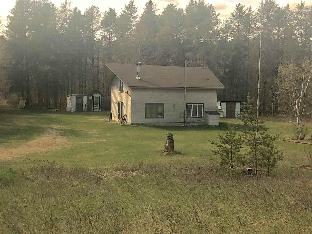 View Single-Family Home For Sale at W8519 AIRPORT ROAD, Crivitz, WI