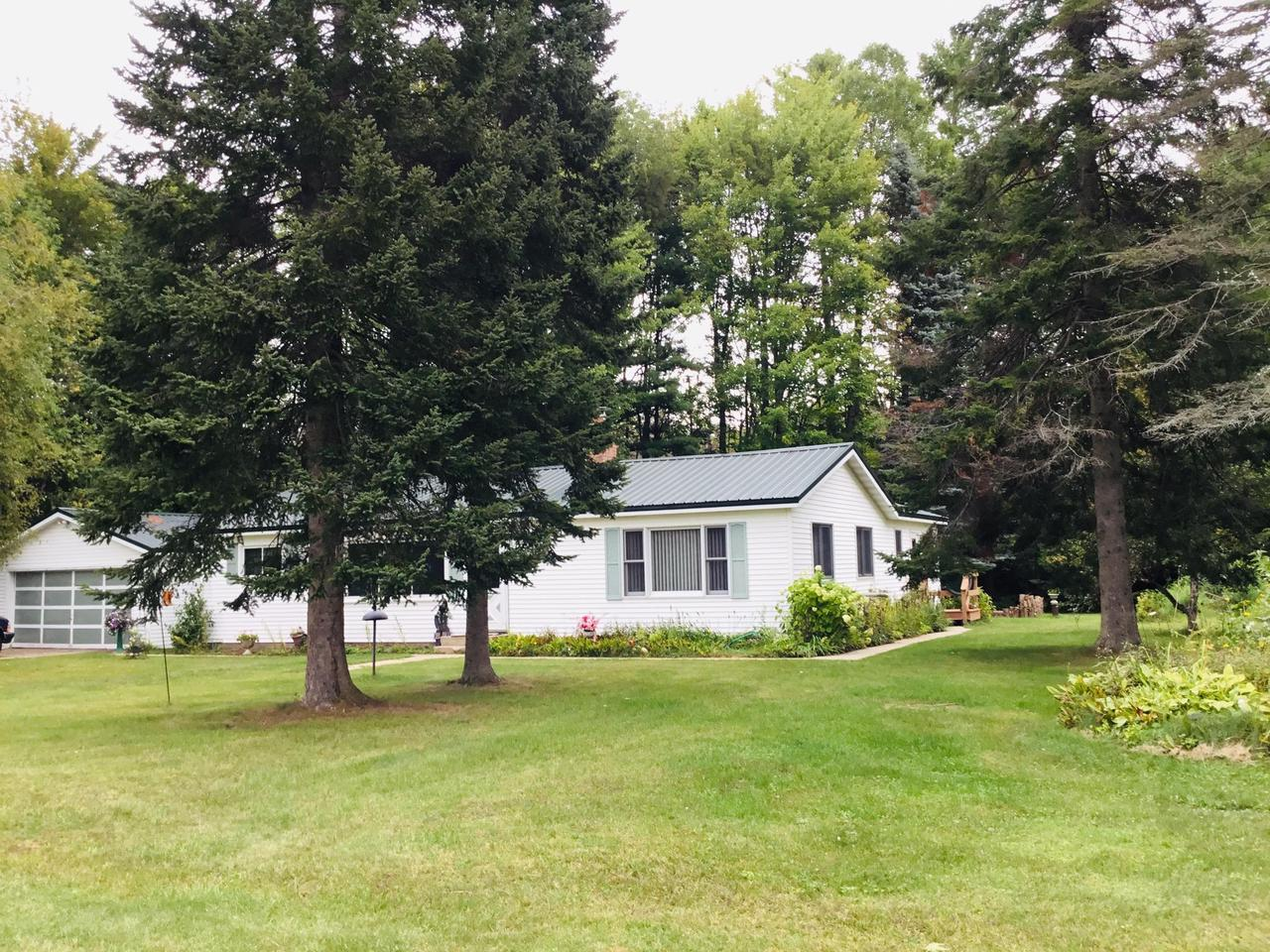 View Single-Family Home For Sale at 13180 Lakeview CT, Pound, WI