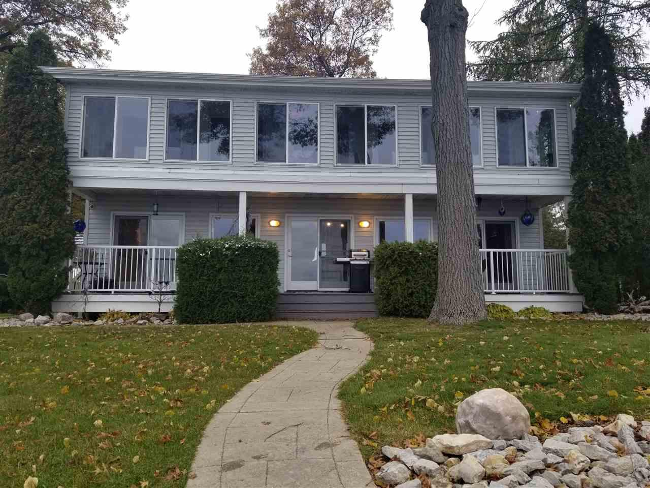 View Single-Family Home For Sale at N1566 SHORE DRIVE, Marinette, WI