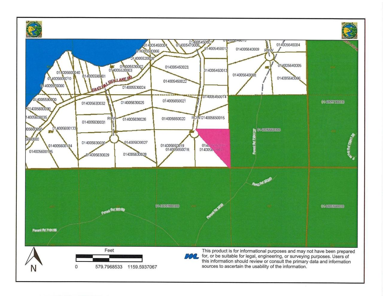 View Vacant Land For Sale at Lt0 Halsey Lake Rd, Long Lake, WI